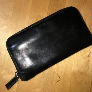 Authentic leather Prada wallet